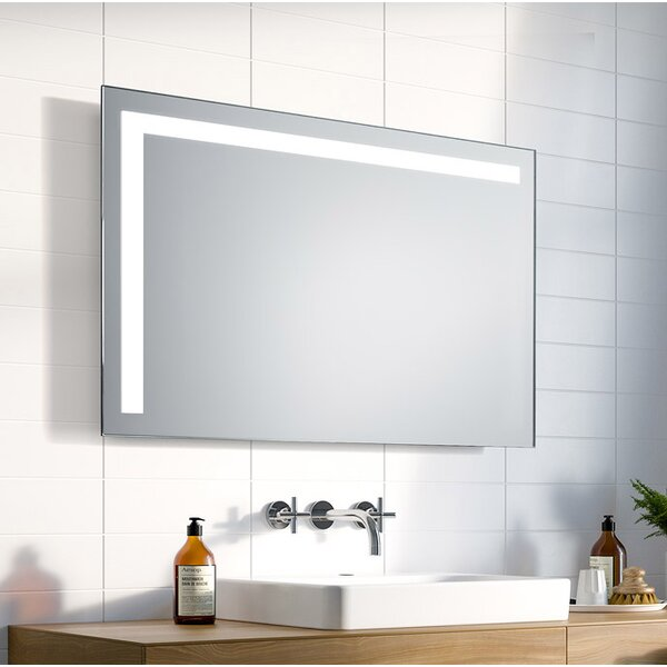 Lyndan - Stainless Steel Wall Mounted Mirror Bathroom Cabinet with 3 Shelves