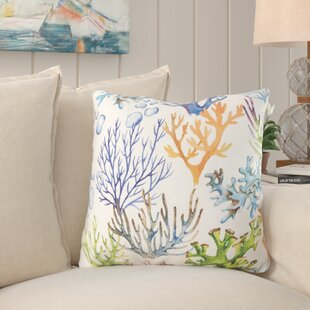 Nowak Island Reef Outdoor Throw Pillow