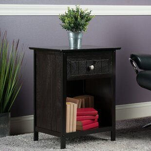 Look for Bonar End Table with Storage By Charlton Home