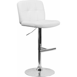 Whelan Swivel Adjustable Height Bar Stool