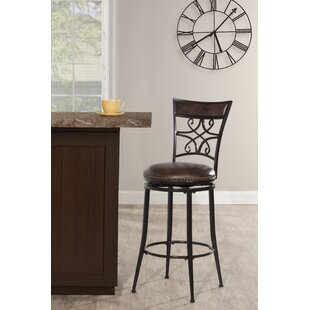 Breunig Bar & Counter Stool Swivel Stool by Fleur De Lis Living