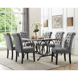 Niall 7 Piece Dining Set by Darby Home Co