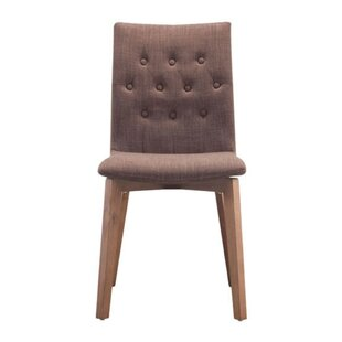 Blasko Solid Wood Dining Chair (Set of 2) Corrigan Studio