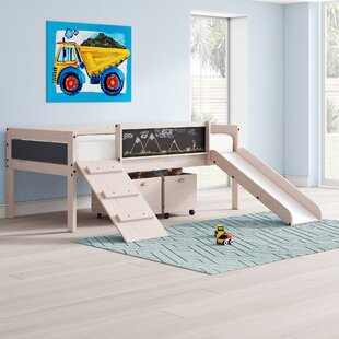 Schlemmer Twin Low Loft Bed with Drawers