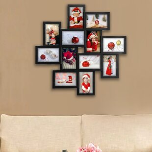 Germain Gallery Collage Wall Hanging 12 Opening Photo Sockets Picture Frame