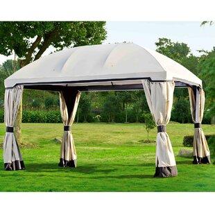 Curtain for 10' W x 13' D Pomeroy Domed Top Gazebo by Sunjoy