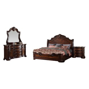 Fletcher Panel 5 Piece Bedroom Set by Astoria Grand Herry Up