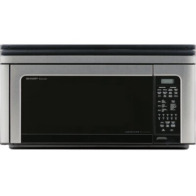 """Sharp 29"""" 1.1 cu.ft. Over-The-Range Convection Microwave Oven"""