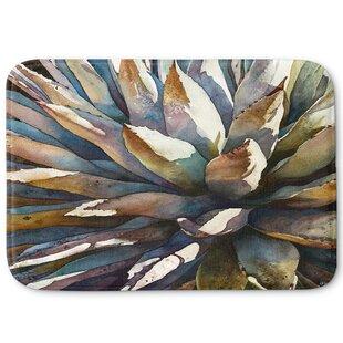 Anne Gifford's Sunstruck Yucca Plant Memory Foam Bath Rug