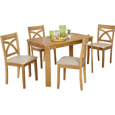Abigail 5 Piece Dining Set by Andover Mills