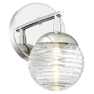 Vemo 1-Light LED Bath Sconce by George Kovacs by Minka