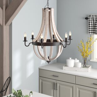 Phifer 6-Light Empire Chandelier