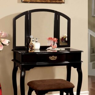 Alcott Hill Knepp Vanity Set with Mirror