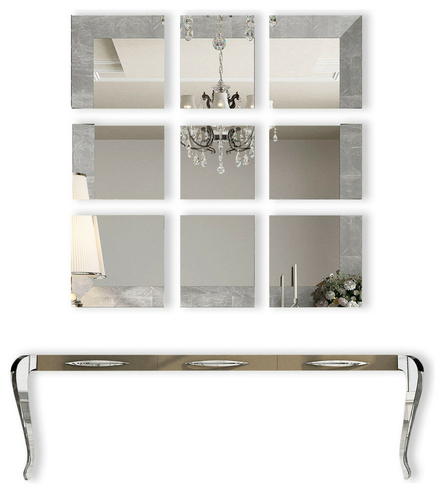 Fernwood Console Table And Mirror Set