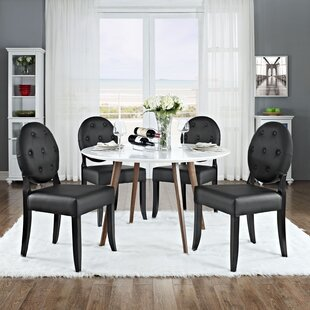 Courtnay Upholstered Dining Chair (Set of 4) Willa Arlo Interiors