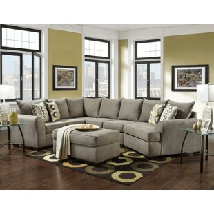 Red Barrel Studio Rensfield Sectional with Ottoman