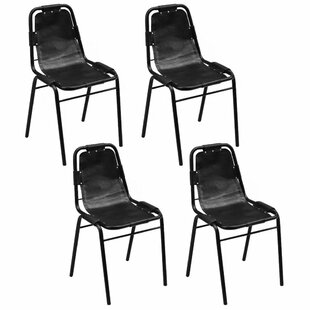 Berthiaume Upholstered Dining Chair (Set of 4) by Foundry Select