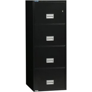 Phoenix Safe International 4-Drawer Vertical Filing Cabinet