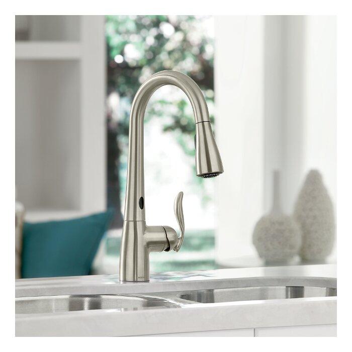 Arbor Touchless Single Handle Kitchen Faucet
