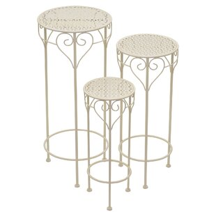 Arliss 3 Piece MultiTiered Plant Stand Set by August Grove