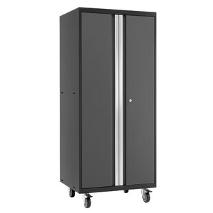 Pro 3.0 65 H x 28 W x 22 D Mobile Locker Storage Cabinet by NewAge Products