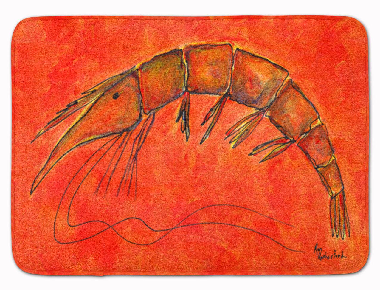 Longshore Tides Odin Shrimp Memory Foam Bath Rug Wayfair