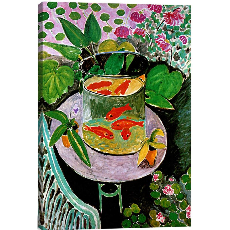 f82fd726a89 The Goldfish (1912)  by Henri Matisse Graphic Art Print   Reviews ...