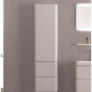 Banderas 40 X 155cm Wall Mounted Tall Bathroom Cabinet