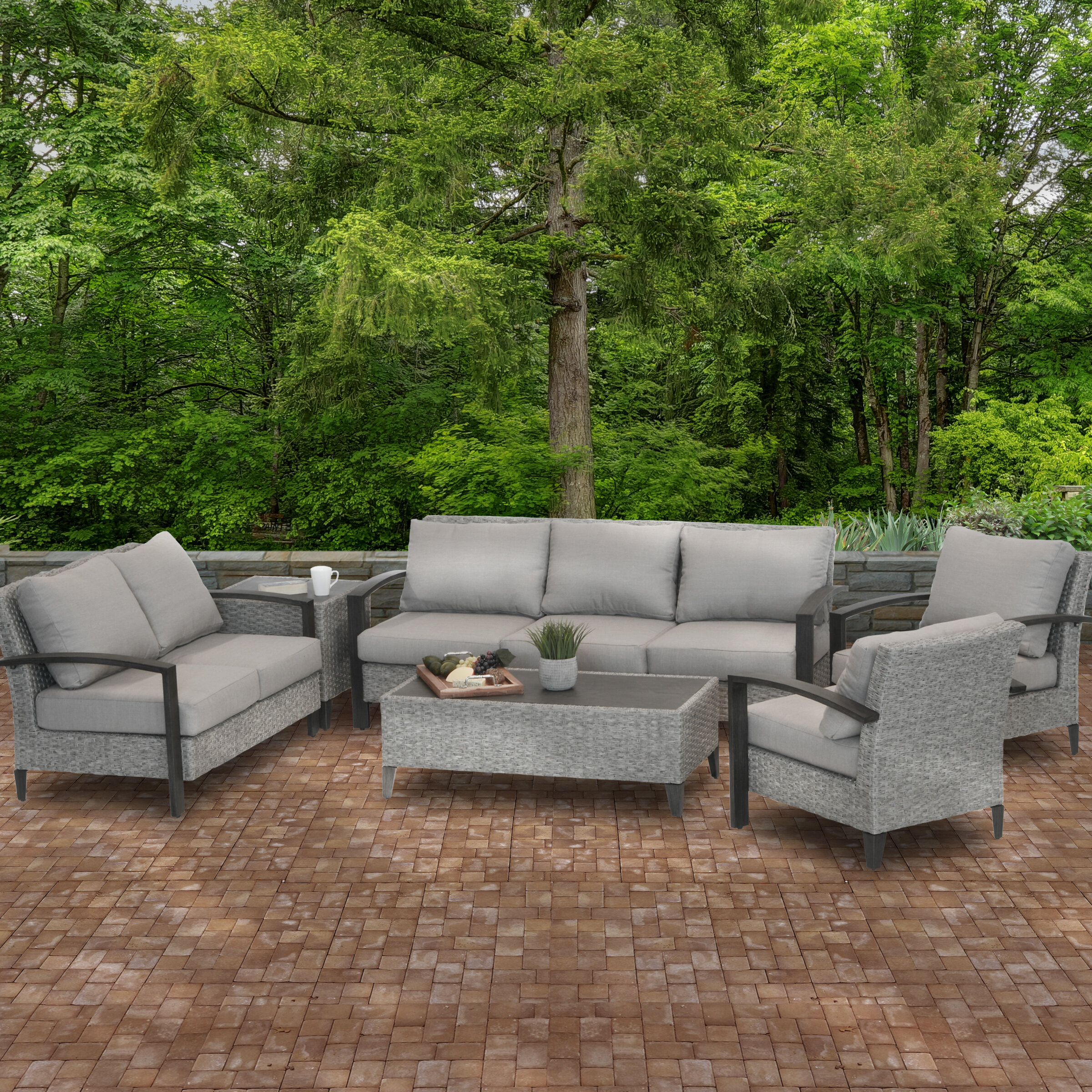 Rosecliff Heights Westfields Collection 6-Piece All-Weather