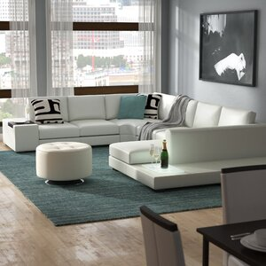 Alana Cork Leather Sectional