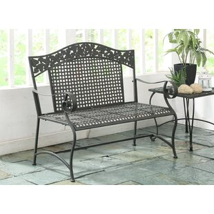 Darby Home Co Pemberville Metal Garden Bench