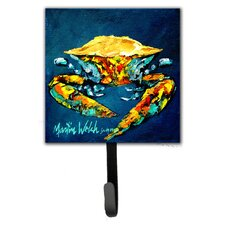 Crab Catch Up Wall Hook by Caroline's Treasures