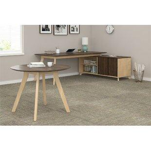 Read Reviews Barbosa Executive 2 Piece L-Shape Desk Office Suite ByIvy Bronx