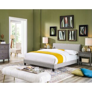 Crooke Queen Upholstered Platform Bed