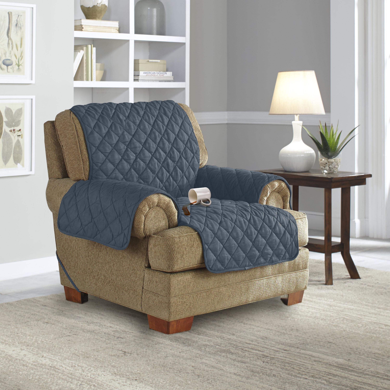 Micro Suede Sofa Slipcover Recliner