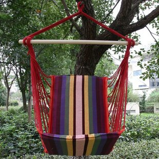 Andover Mills Nickerson Cotton Fabric Hanging Chair hammock