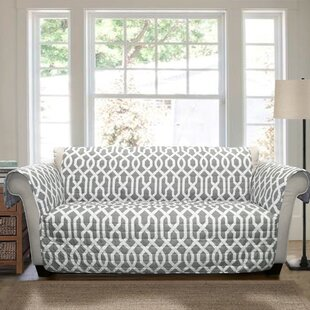Caledonia Box Cushion Loveseat Slipcover