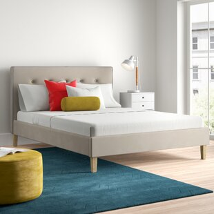 Belmont Upholstered Bed Frame By Hykkon