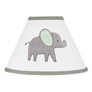 Elephant 10 Fabric Empire Lamp Shade