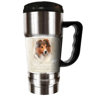 Howard Robinson's Shetland Sheepdog 20 oz. Stainless Steel Travel Tumbler