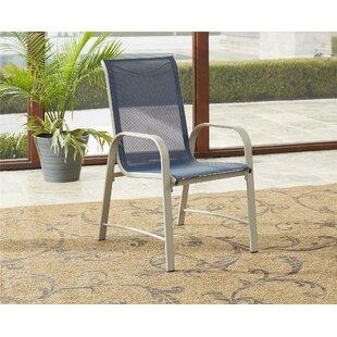 Zipcode Design Kohlmeier Patio Dining Chair (Set of 6)