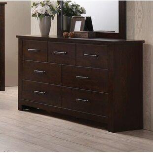 Felder 7 Drawer Double Dresser by Latitude Run