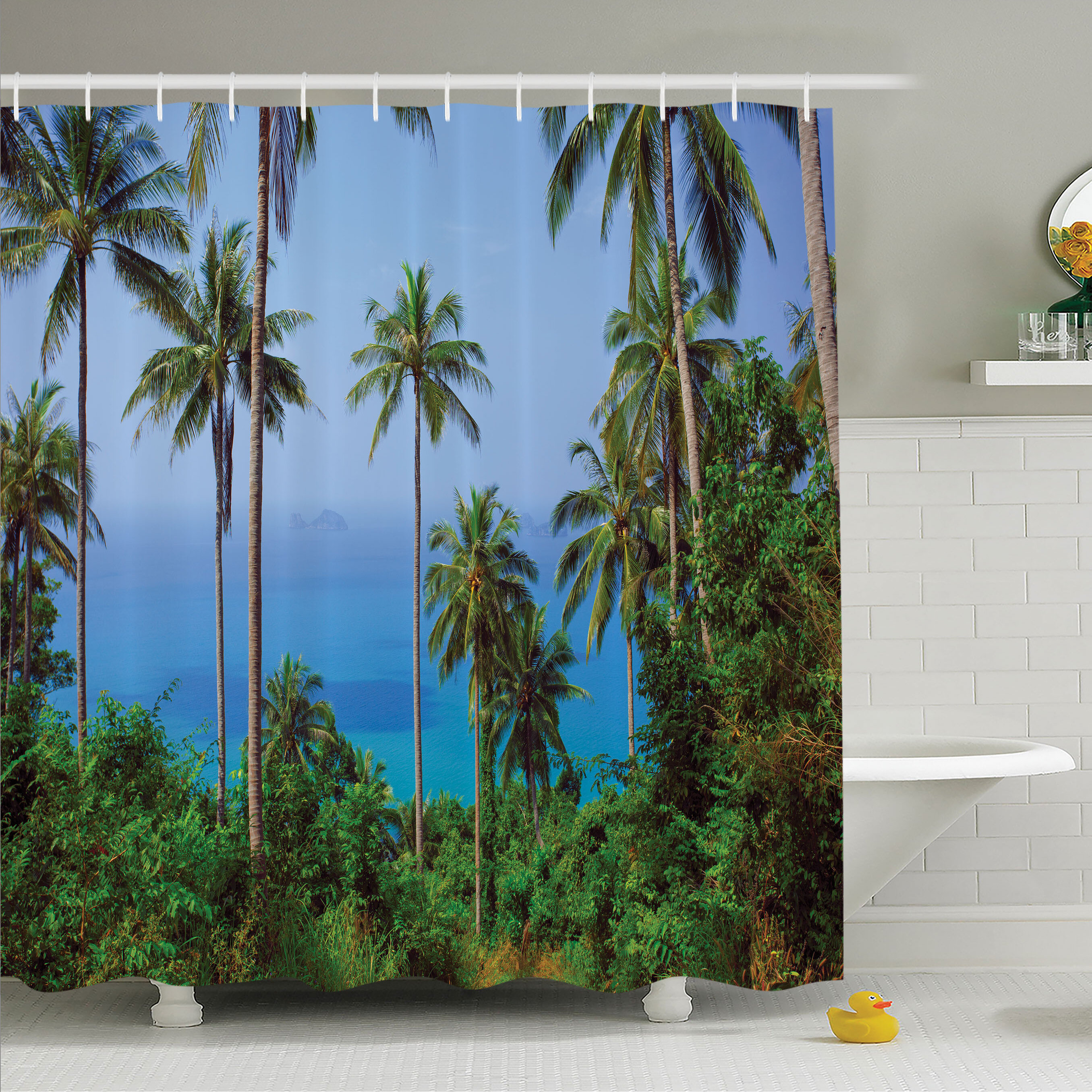 Bathroom Supplies Accessories Hook Colorful Tropical Sea