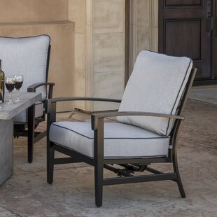 Duncombe Motion Patio Chair with Sunbrella Cushions (Set of 2)
