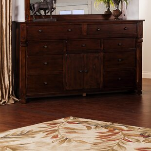 Great choice Fresno 9 Drawer Combo Dresser by Loon Peak