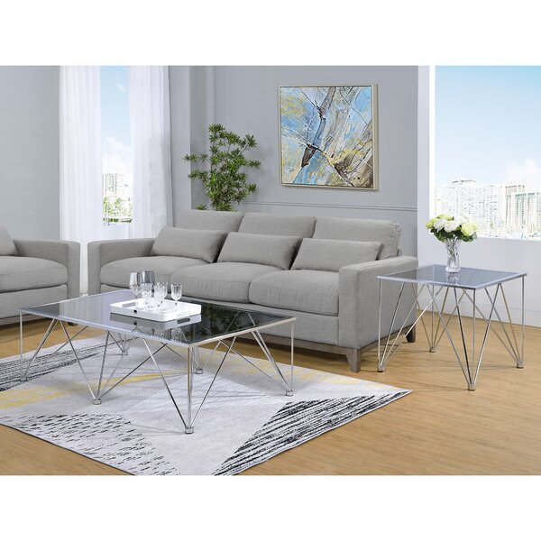 Ivy Bronx Belgrade 2 Piece Coffee Table Set
