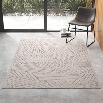 Lou Hand Tufted Wool Ivory Area Rug Reviews Allmodern