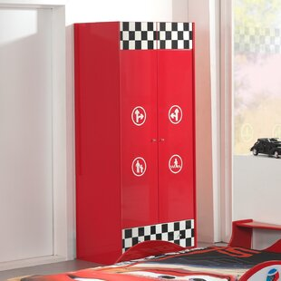 Rosenberry 2 Door Wardrobe By Zoomie Kids