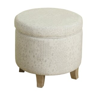 Derosier Round Storage Ottoman by Gracie Oaks