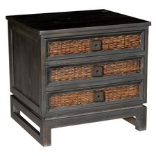 Colebrook 3 Drawer Nightstand by Bay Isle Home